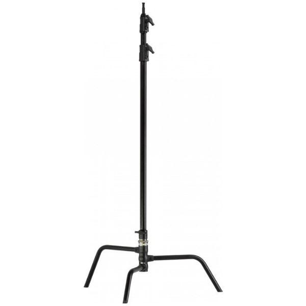 "Kupo 40"" Black Master C-Stand with Turtle Base"