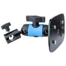 Kupo Rear Mounting Plate with Twist-Lock for Kino Flo Double Fixtures