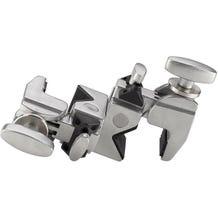 Kupo KG702512 Double Convi Clamp - Silver Finish