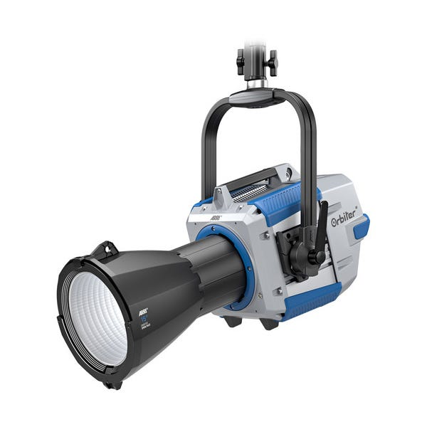 ARRI Orbiter LED Light with 15° Projection Optics (Blue/Silver, Bare Ends, Pole-Operated)