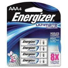 Energizer E2 AAA Lithium Battery - 4 Pack