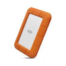 LaCie 4TB Rugged Thunderbolt USB-C Portable Hard Drive