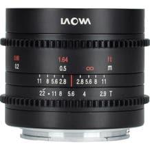 Laowa - Venus Optics 9mm T2.9 Zero-D Cine Lens - MFT Lens Mount