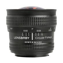 Lensbaby 5.8mm f/3.5 Circular Fisheye Lens (E Mount)