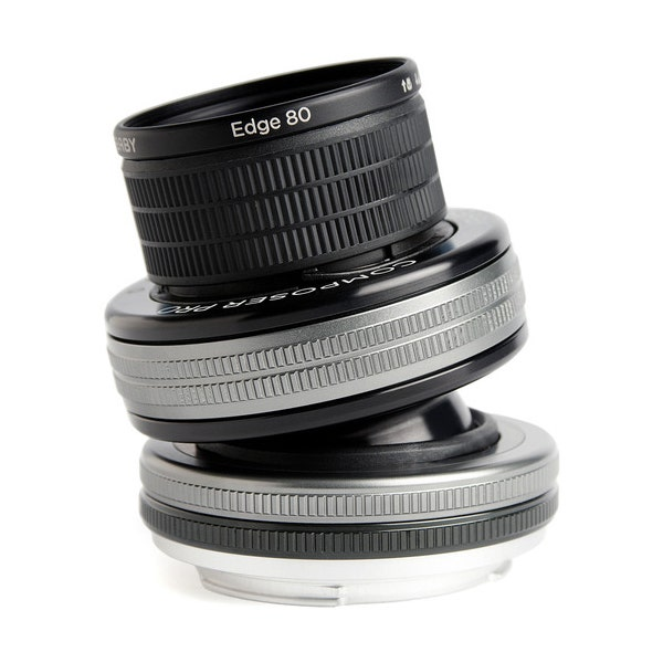 Lensbaby Composer Pro II w/ Edge 80 Optic for Canon EF