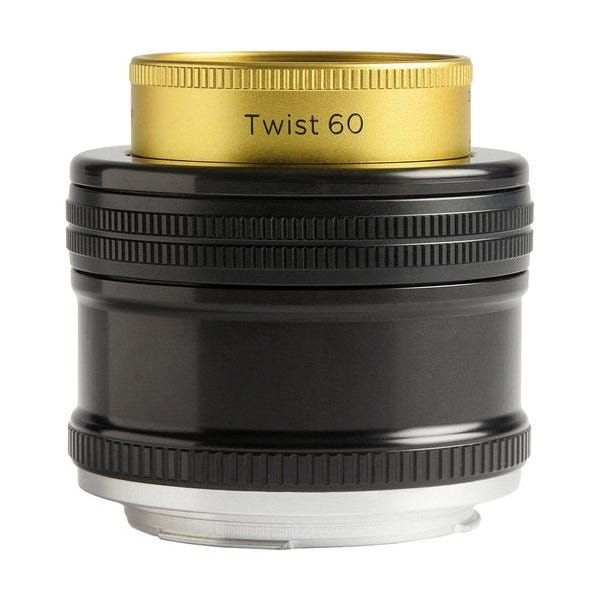 Lensbaby Twist 60 Optic with Straight Body (Various)