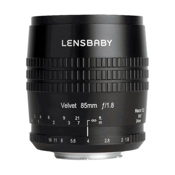 Lensbaby Velvet 85mm f/1.8 Lens for Nikon F
