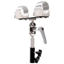 Ledgo T14 Transparent clip for 1 tube Ball Head Yoke with Swivel Pin