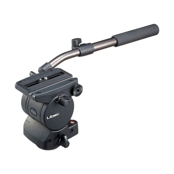 Libec RH45D Fluid Head with Pan Handle RH45D