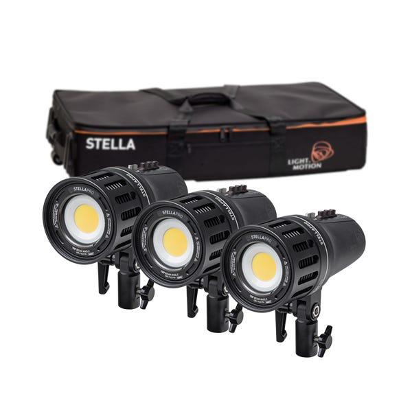 Light & Motion Stella Pro 555 RF 3-Light Kit