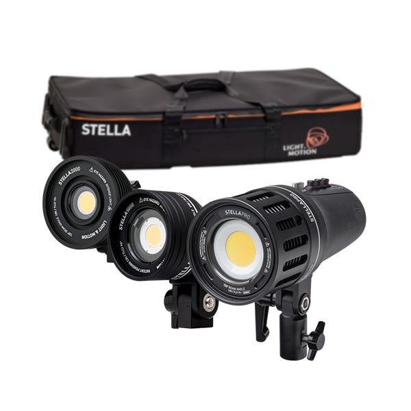 Light & Motion Stella Pro 125 RF 3-Light Kit