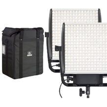 Litepanels Astra E 1x1 Daylight LED Panel Bundle