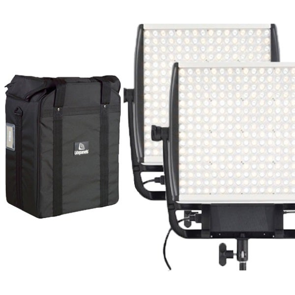 Litepanels Astra E 1x1 Daylight LED Panel Bundle
