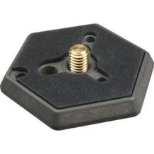 """Manfrotto 030-38 Hexagonal Quick Release Plate with 3/8"""" Screw"""