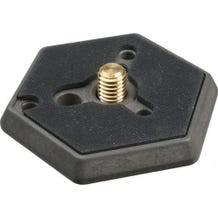 "Manfrotto 030-38 Hexagonal Quick Release Plate with 3/8"" Screw"