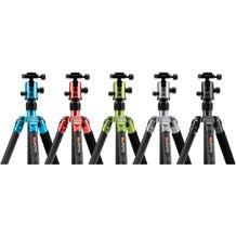 MeFoto Globetrotter Aluminum Travel Tripod Kit - Various Colors