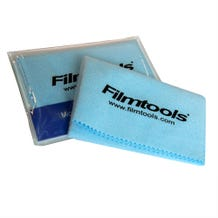 "Filmtools 7 x 7.5"" Mikros Lens Cleaning Microfiber Cloth - Regular"