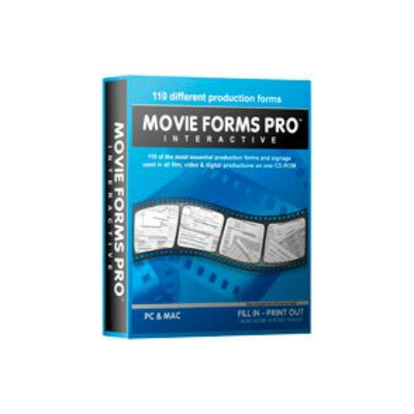 Movie Forms Pro Interactive Software - PC & MAC