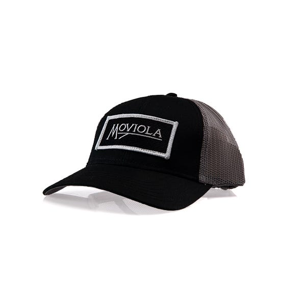 Moviola Trucker Hat Snapback - Black