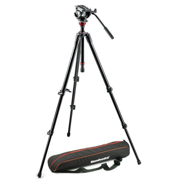 Manfrotto MVH500AH, 755CX3 Tripod Kit