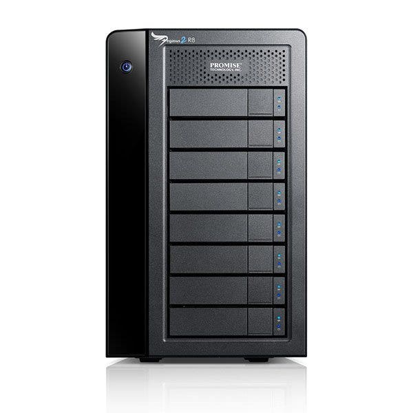 Promise Technology Pegasus2 R8 Thunderbolt 2 RAID Storage Array (Various Memory Capacities)