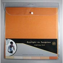 """LEE Filters 10 x 12"""" Daylight to Tungsten Lighting Filter Sheet Pack - 12 Sheets"""