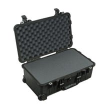 Pelican 1510 Carry On Case with Foam Set - Black