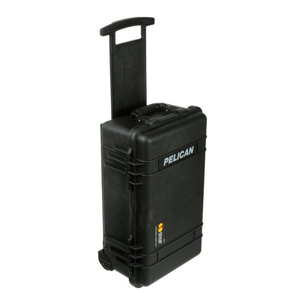 Pelican 1510 Carry On Case without Foam - Black