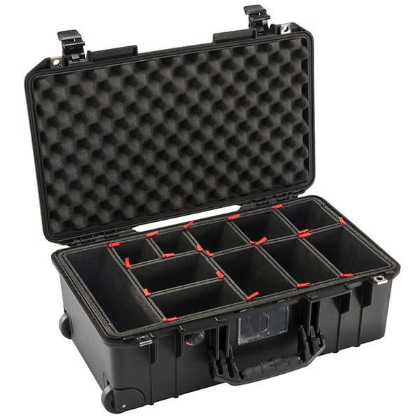 Pelican 1535 Black Air Case - TrekPak
