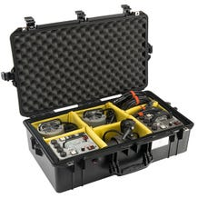 Pelican 1605 Black Air Case - Dividers
