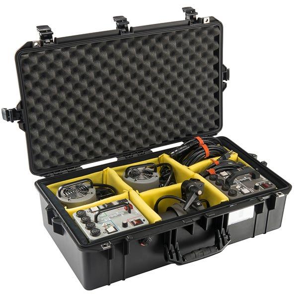 Pelican 1605 Black Air Case - Dividers
