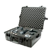 Pelican 1600 Case with Foam - Black