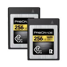 ProGrade Digital CFexpress 2.0 (Type-B) 256GB Memory Card - Gold (2 Pack)
