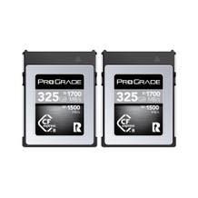 ProGrade Digital CFexpress 2.0 (Type-B) 325GB Cobalt Memory - 2 Pack