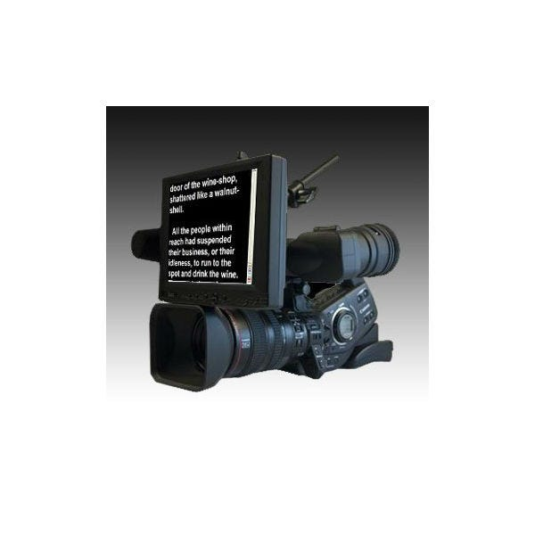 "Ikan 8"" 4:3 Portable Teleprompter Kit (Over Lens)"