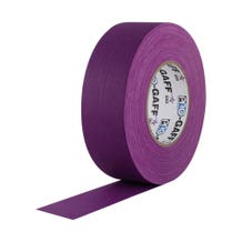 ProTapes Pro Gaffer Tape - 2in x 50yds - Purple