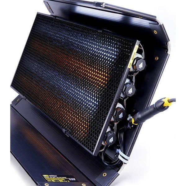 Quasar Science/Kino Flo 8' XXLong 4 Bank Kit with Q50 Crossfade LED Lamp System
