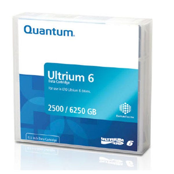 Quantum 2.5TB LTO Ultrium 6 Data Cartridge