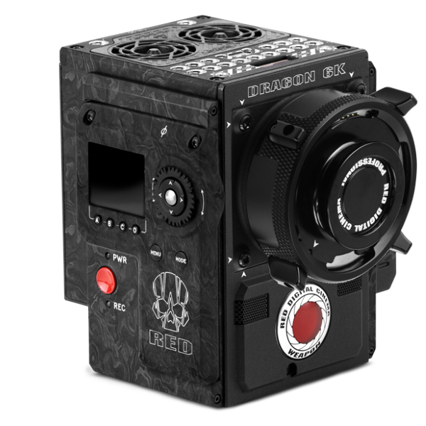 RED WEAPON 6K Forged Carbon Fiber Camera - Body Only