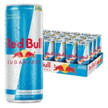 Red Bull Sugar Free 8.4 oz Cans - 24 Pack