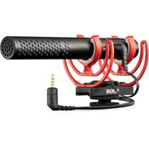 Rode VideoMic NTG Hybrid Analog/USB Camera-Mount Shotgun Microphone