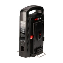 Hedbox RP-DC100V V-Mount Dual Battery Charger