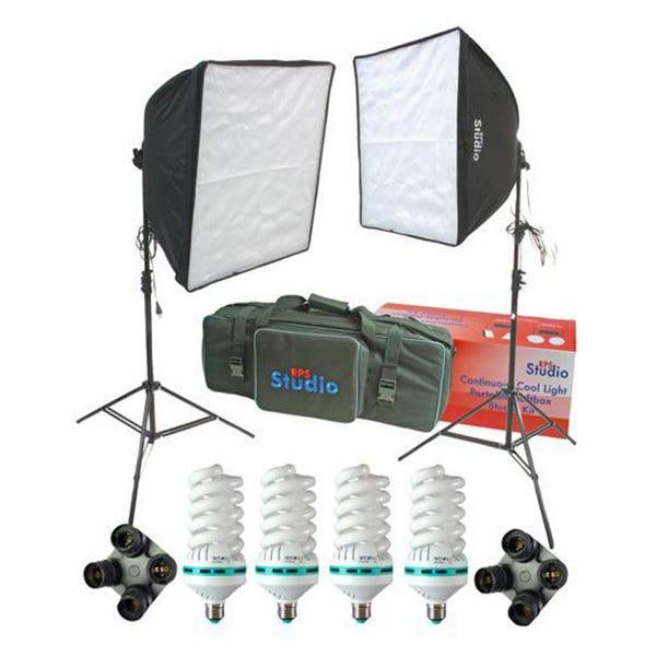 RPS Studio RS-4075 Dual Square Softbox Kit