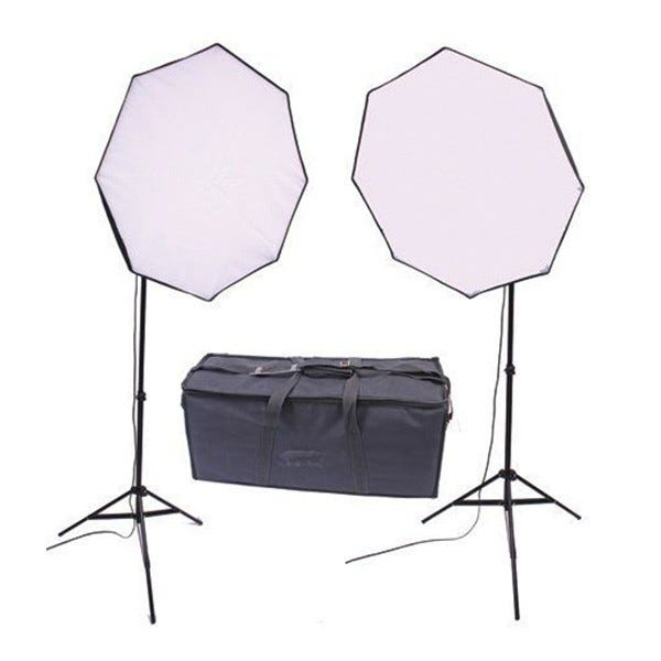RPS Studio RS-4080 280W Dual Octagonal Softbox Kit