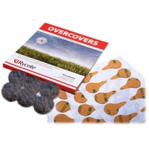 Rycote Overcovers - Gray, 6-Pack, 30 Stickies