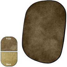 Savage Collapsible/Reversible Background (5 x 6', Earth Tone)