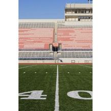 Savage Football Field Sideline Printed Vinyl Backdrop - 5x7ft