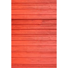 Savage Red Barn Wall Printed Vinyl Backdrop - 5x7ft
