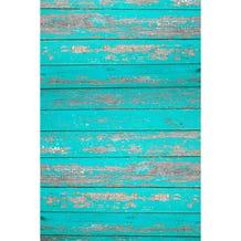 Savage Rustic Teal Wood Printed Vinyl Backdrop - 5x7ft