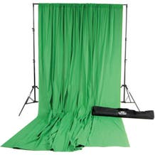Savage Accent Muslin Background Kit (10 x 12', Chroma Green)